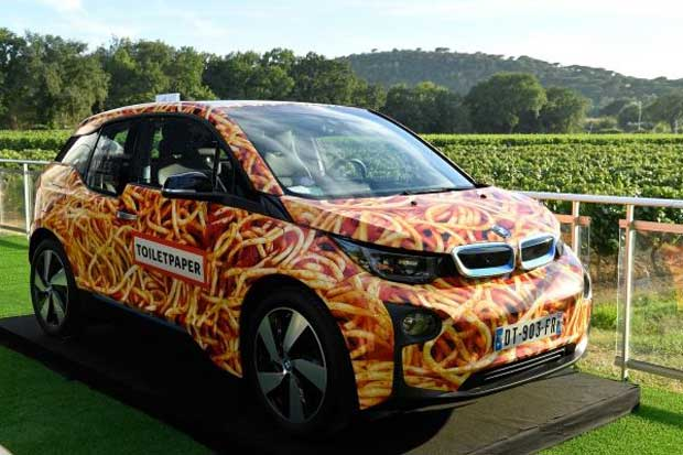 "BMW vende su i3 ""Spaghetti Car"""