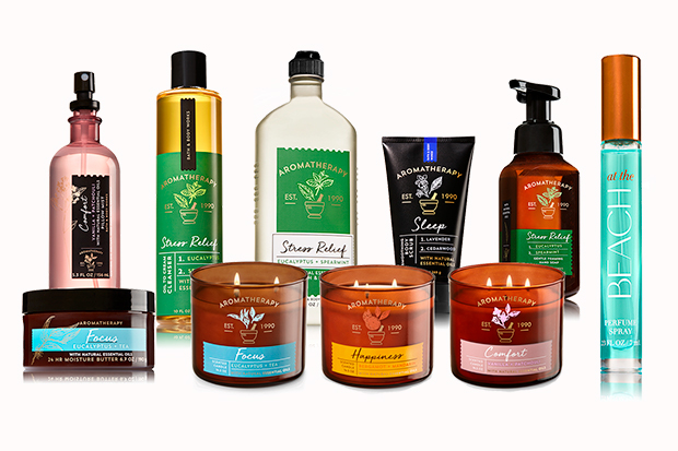 Bath & Body Works lanza productos para aromaterapia