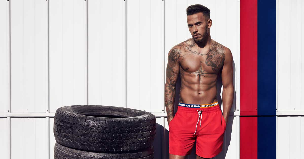 lewis hamilton se une a tommy hilfiger. Black Bedroom Furniture Sets. Home Design Ideas